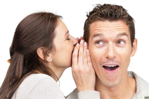 Какие фразы помогут возбудить мужчину