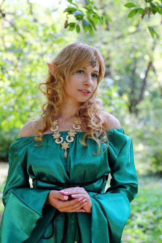 Эротический рассказ - Пикник с эльфийками