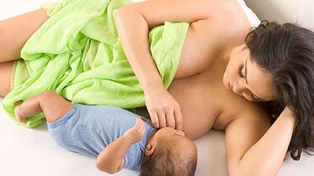 Секс и кормление грудью